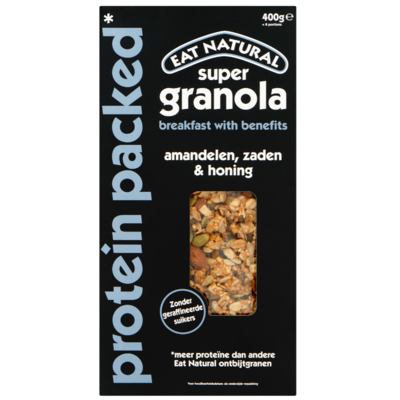 Eat Natural Super granola protein packed