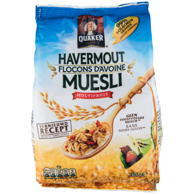 Quaker Muesli multifruit