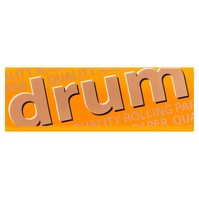 Drum Gummed 60 Rolling Papers