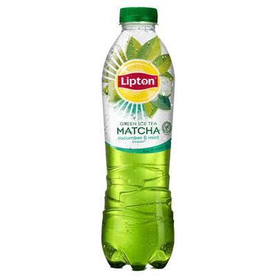 Lipton Matcha green ice tea cucumber-mint