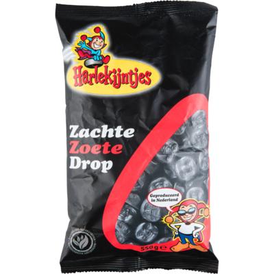 Harlekijn Zachte zoete drop