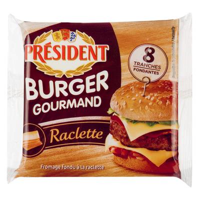 Président Burger gourmand raclette