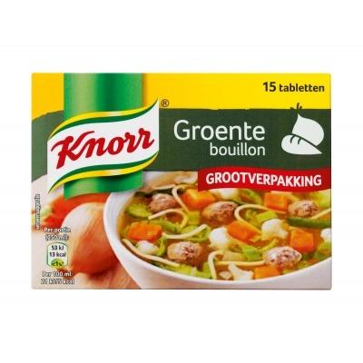 Knorr Groenten bouillon tabletten