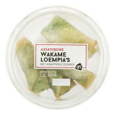 AH Wakame loempia's met knapperig zeewier