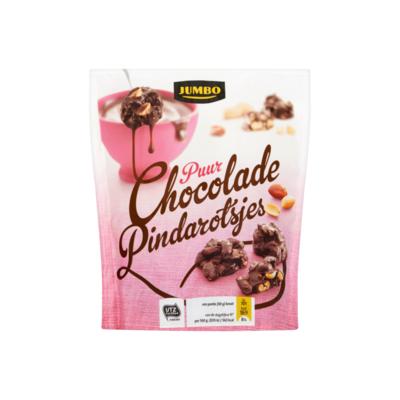 Huismerk Puur Chocolade Pindarotsjes