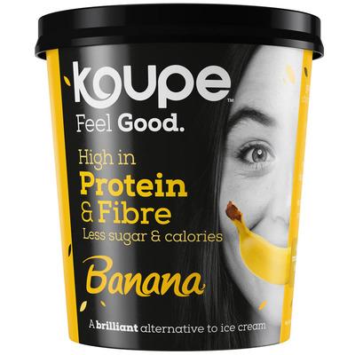 Koupe Proteïne-ijs banaan