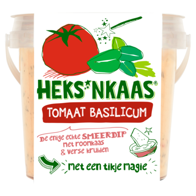Heks'nkaas Tomaat-basilicum