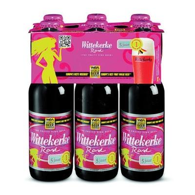 Wittekerke Speciaalbier Rose Fles 6X25 Cl