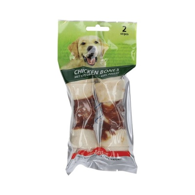 Best for your Friend Hondensnack Chicken Bones Large