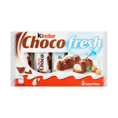 Kinder Choco Fresh Milk and Hazelnuts 5 Stuks