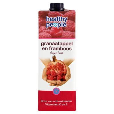 Healthy People Granaatappel en Framboos Superfruit 1 Liter