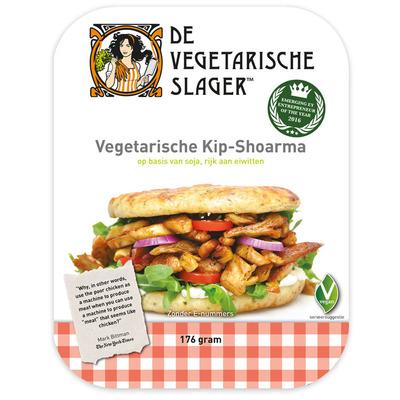 Vegetarische Slager Kip-shoarma