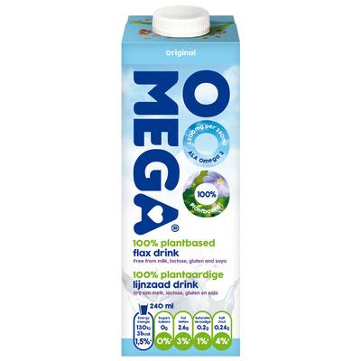 OOOMEGA Lijnzaad drink original