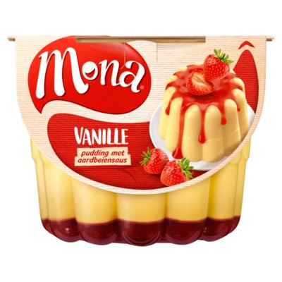 Mona pudding vanille 450 ml