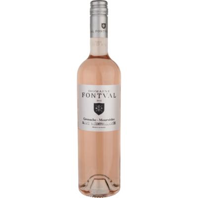 Domaine Fontval Grenache mourvedre rosé