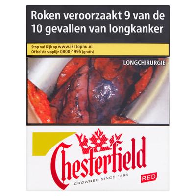 Chesterfield Red 35 Stuks
