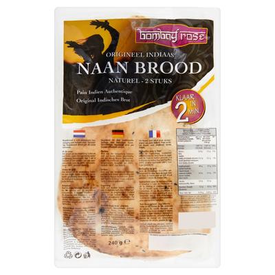Bombay Rose Naanbrood 240 g