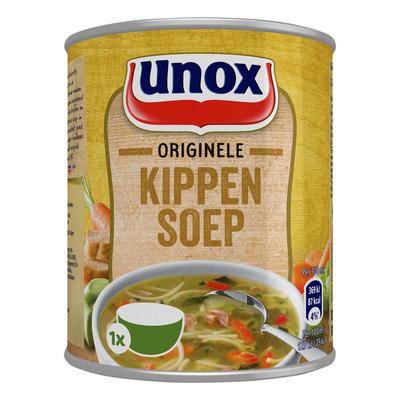 Unox Soep in blik stevige kippensoep