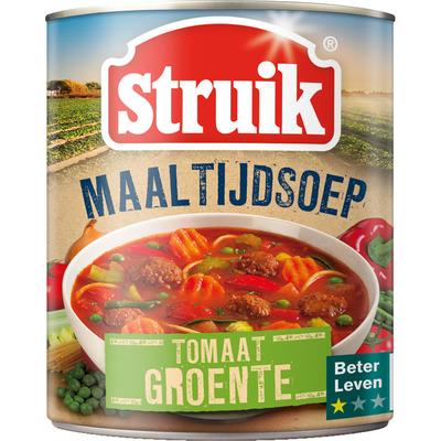 Struik Maaltijdsoep tomaat-groente