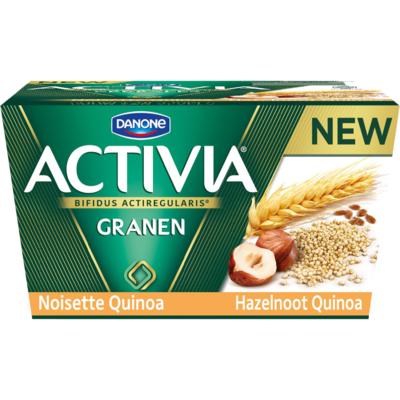Activia Yoghurt hazelnoot quinoa 4 stuks