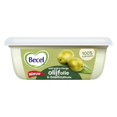 Becel Margarine met olijfolie en basilicum
