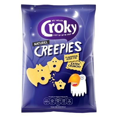Croky Creepies naturel