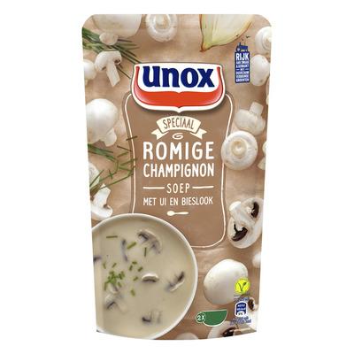 Unox Soep in zak champignonsoep