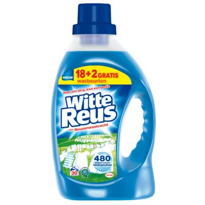 Witte Reus Vloeibaar wasmiddel 18 + 2 wasbeurten