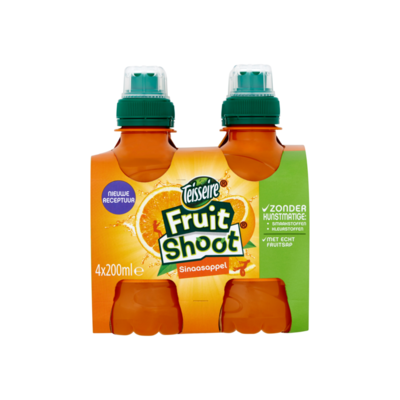 Teisseire Fruit Shoot Sinaasappel