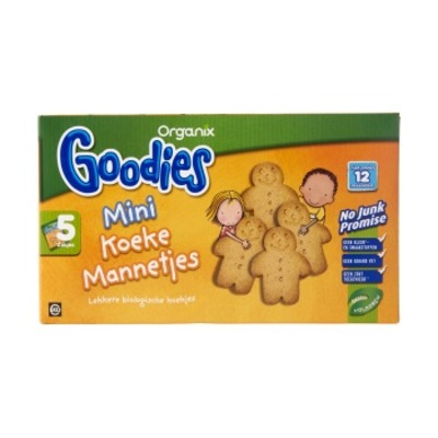 Organix Goodies mini koekemannetjes