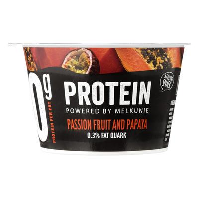 Melkunie Protein quark passionfruit and papaya