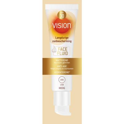 Vision Sun zonnebrand face fluid SPF 30