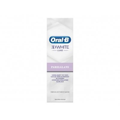 Oral-B Tandpasta 3d white luxe parelglans