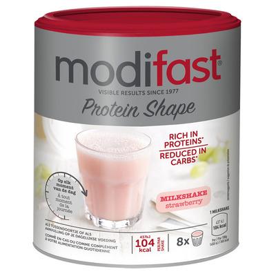 Modifast Proteïn shape milkshake aardbei