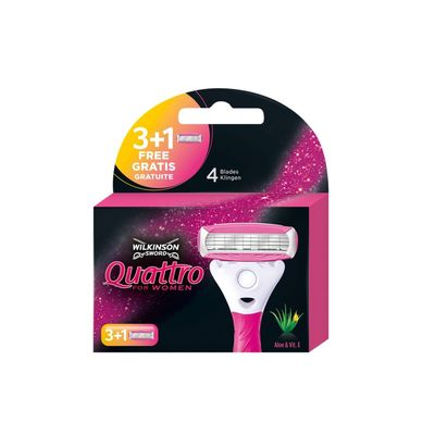 Wilkinson Quattro For Women Navulmesjes
