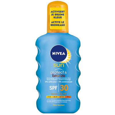Nivea Sun Protect & Bronze sun spray SPF 30