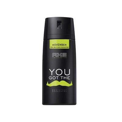 Axe You Movember Deodorant Bodyspray