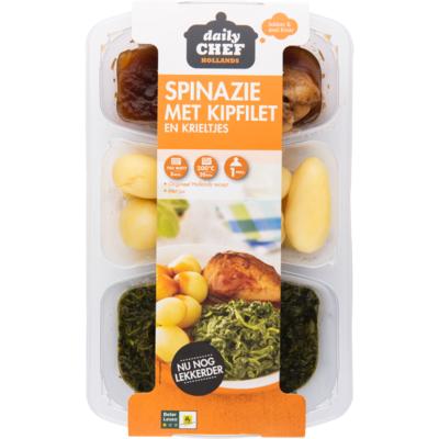 Huismerk Spinazie kipfilet minikriel