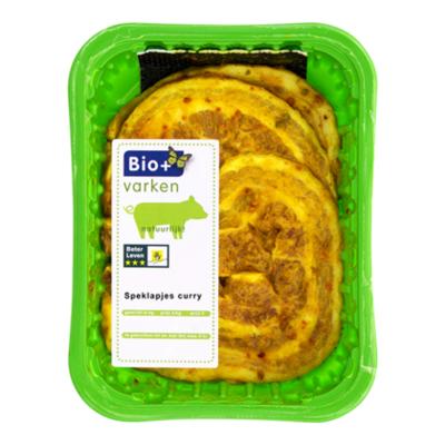 Bio+ Speklapjes curry