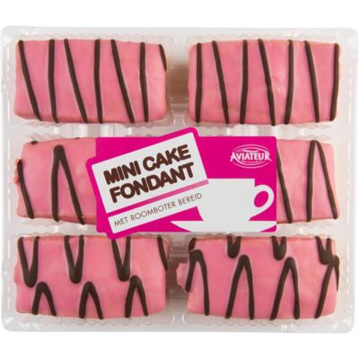 Aviateur Mini cake fondant