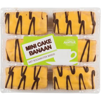 Aviateur Mini cake banaan