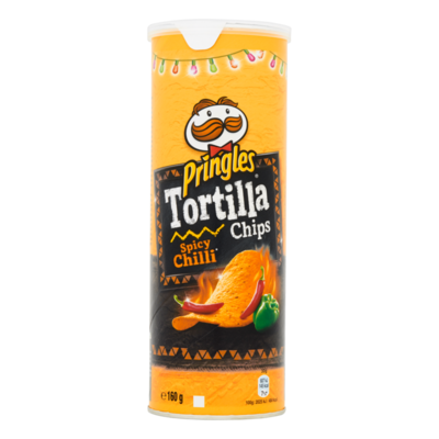 Pringles Tortilla Spicy Chilli