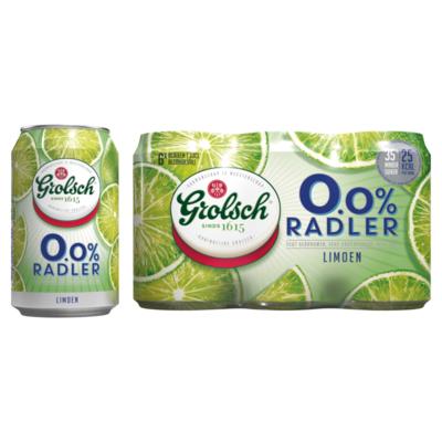 Grolsch Radler Limoen Blikken