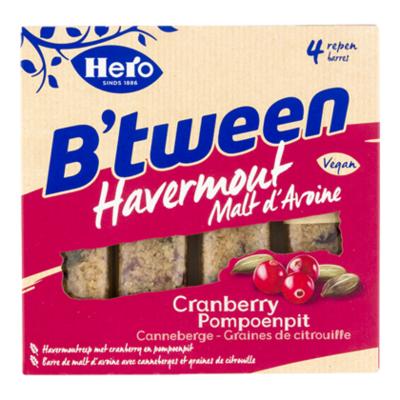 Hero B'tween cranberry pompoenpitten