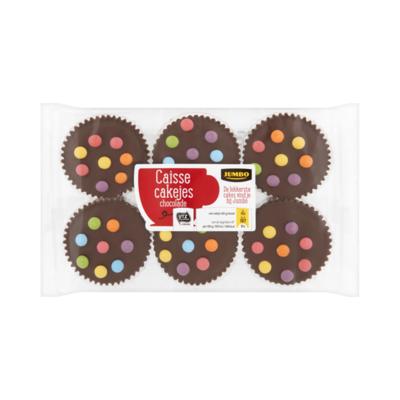 Jumbo Caisse Cakejes Chocolade