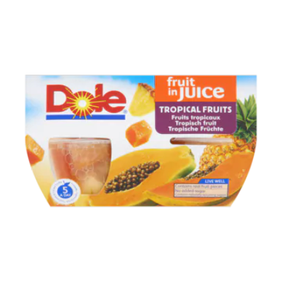 Dole Fruit in Juice Tropisch Fruit