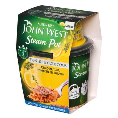 John West Steampot tonijn citroen-tijm