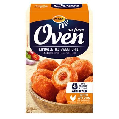 Mora Oven sweet chili kipballetjes