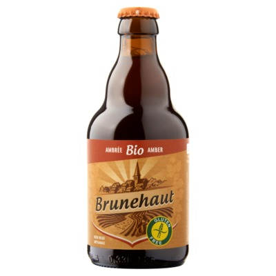 Brunehaut Amber glutenvrij bier 33 cl.