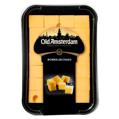 Old Amsterdam Borrelblokjes Kaas 48+ 150 g